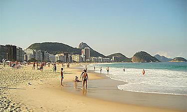 Plages de Copacabana et d'Ipanema (Rio de Janeiro)