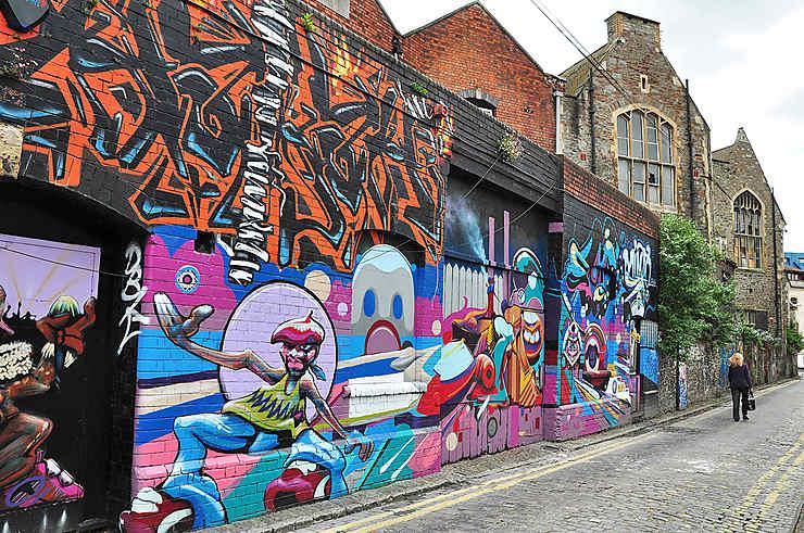 Bristol, capitale du street art