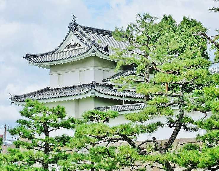 Château Nijo à Kyoto, Japon