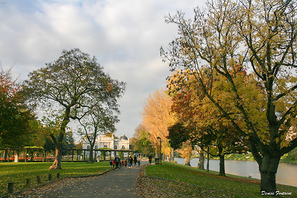 Le Parc de la Boverie à Liège