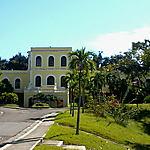 Belle façade à Santiago de Cuba