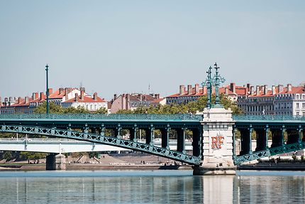 Le Pont de l'Université sur le Rhône à Lyon