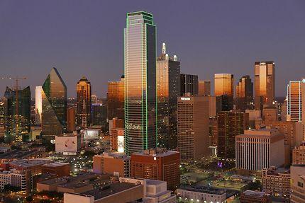 Dallas au crépuscule