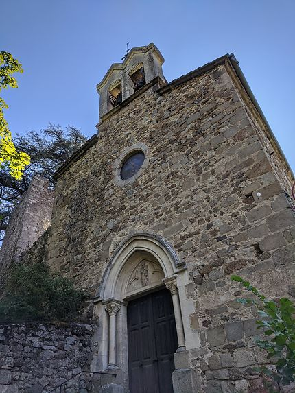 Façade église Thorrenc