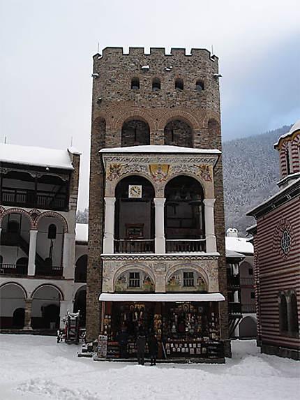 Cloître du monastère de Rila