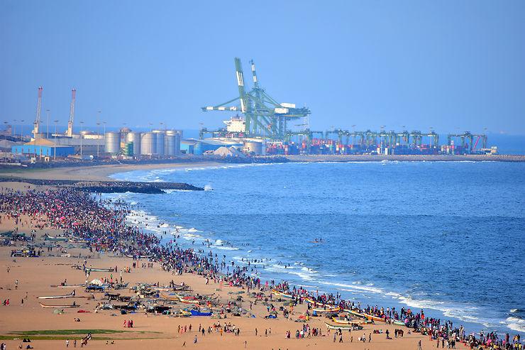 Madras : un port maritime dédié aux échanges