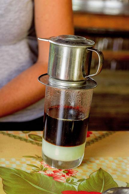Café vietnamien à Sapa