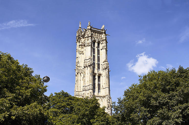Paris - La Tour Saint-Jacques rouvre au public jusqu'en novembre