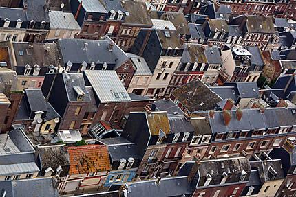 Sur les toits de Fécamp