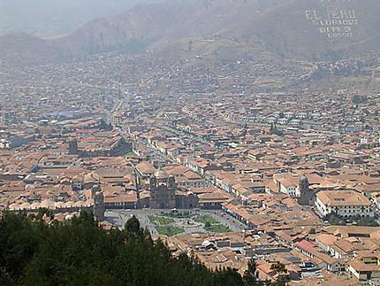Vue prise depuis le site de Sacsayhuaman