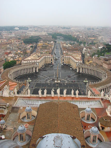 Vue du Pape