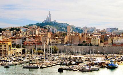 Vue sur Marseille et le Vieux-Port