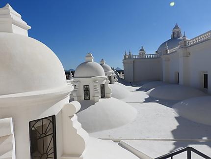 Cathédrale de la Asuncion - sur le toit