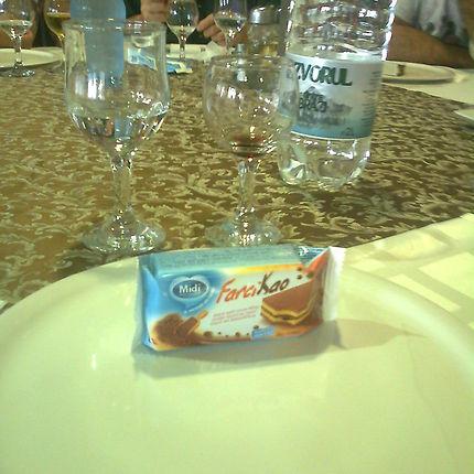 Dessert et humour en Roumanie
