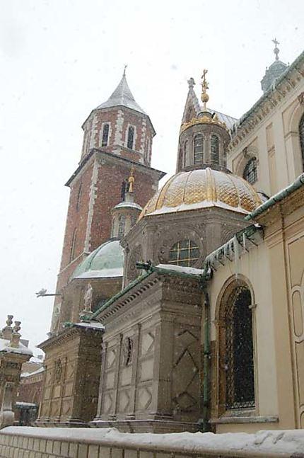 La cathédrale de Cracovie