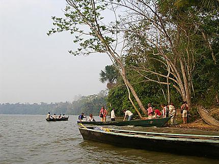 Le lac Sandoval