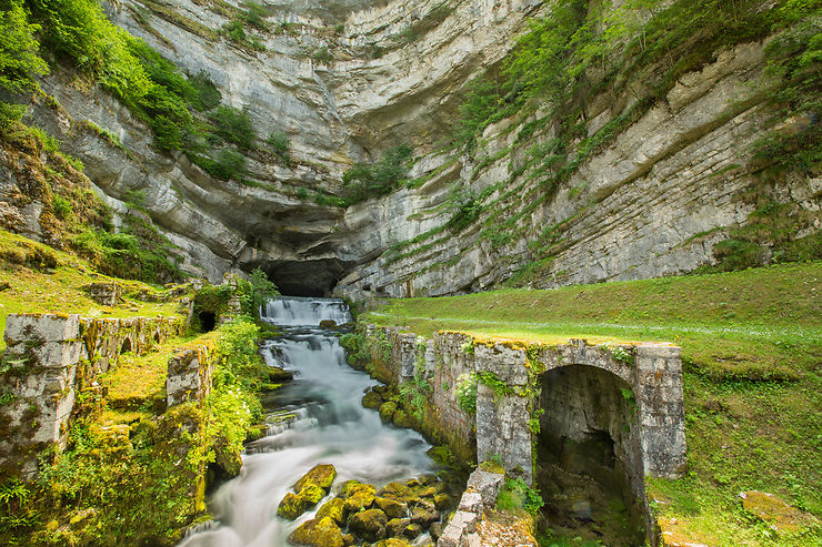 Les sources de la Loue - Doubs (Franche-Comté)