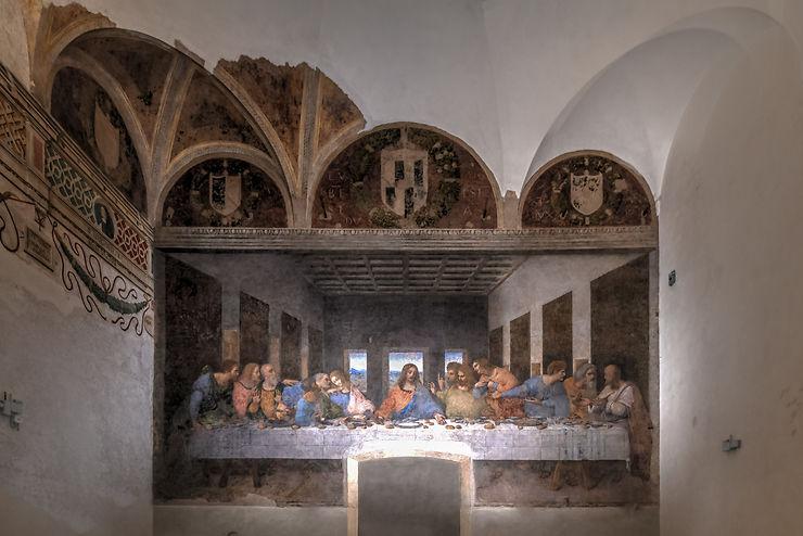 Léonard peintre : expositions sur la Cène et la Vierge à l'enfant