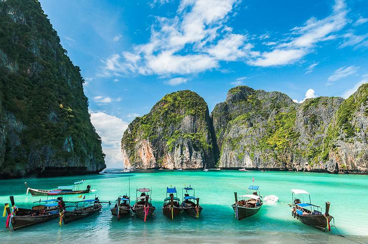 Thaïlande - Maya Bay, la baie du film La Plage, fermée jusqu'en 2021