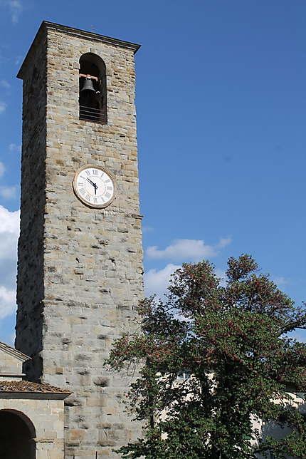 Le clocher de San Pietro de Reggello