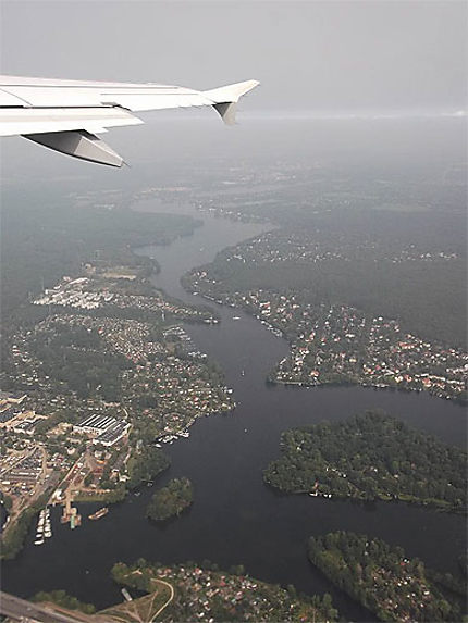 Wannsee vue du ciel