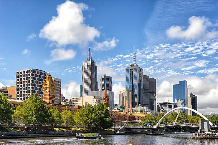 Melbourne, la belle Australienne