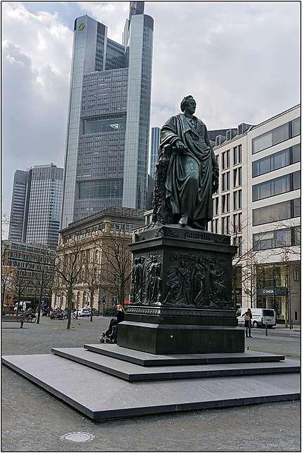 Statue de Goethe