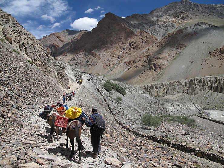 Trek au Zanskar, Inde