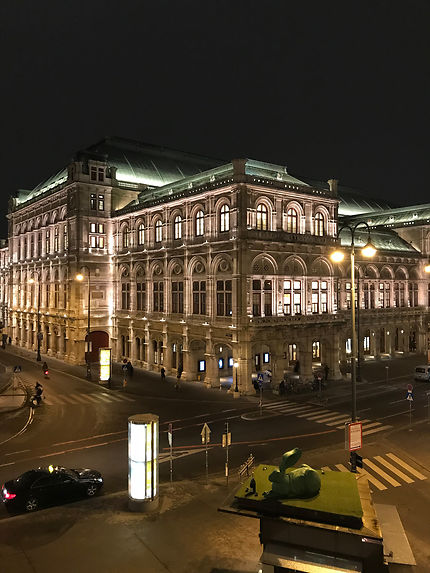 Opéra vienne by night