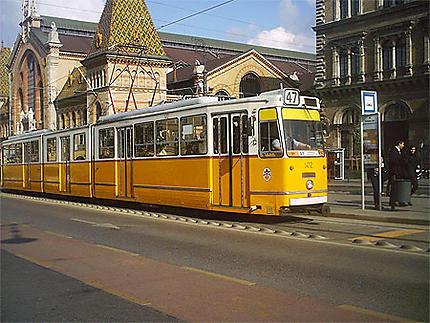 Tramway à Budapest