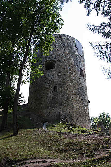 Partie du château