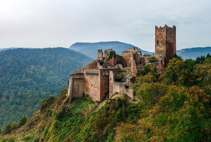 Les Trois Seigneurs de Ribeauvillé - Haut-Rhin (Alsace)