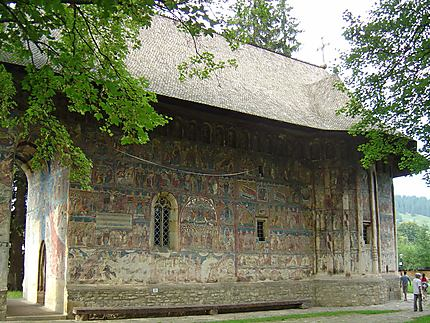 Bucovine : monastère d'Humor