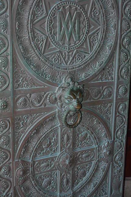 Détail portail d'entrée