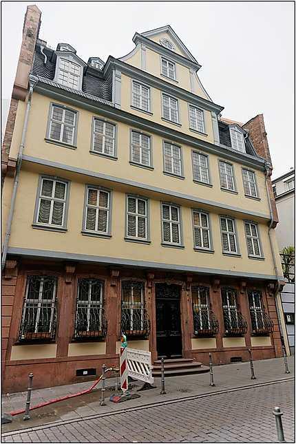 La maison de Goethe