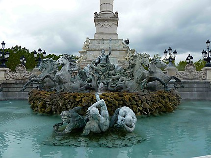 Fontaine aux Girondins