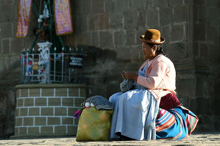 Puno, au bord du Titicaca