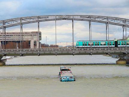La Seine et le viaduc d'Austerlitz