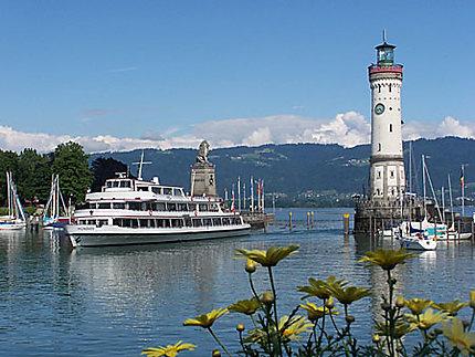 Entrée du port de Lindau am Bodensee