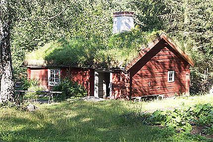 Maison d'époque à Skansen