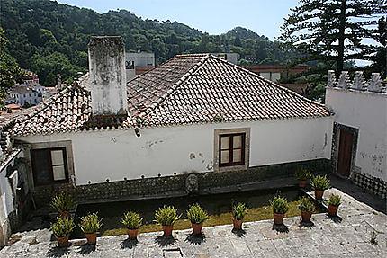 Le palais national de Sintra (Portugal)
