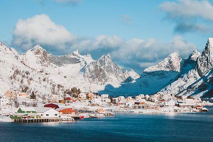 Reine en Norvège sur les îles Lofoten