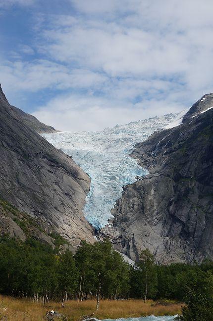 Glacier de Briksdal en Norvège