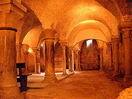 Crypte de la basilique de Vézelay