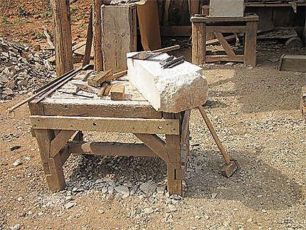 Outils des tailleurs de pierres