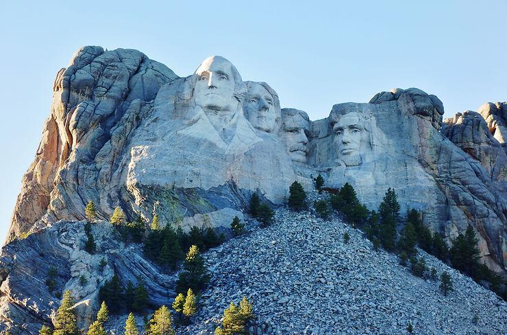 Le mont Rushmore dans le South Dakota : La Mort aux trousses