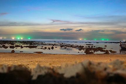 La nuit tombe sur Koh Lanta