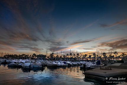Le port de Plaisance de Santa Pola
