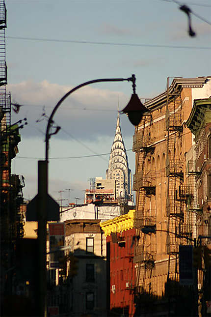 Chrysler building from chinatown