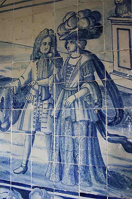Les azulejos (Palais national de Sintra)